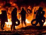 В Москве на стоянке сгорело 12 элитных автомобилей