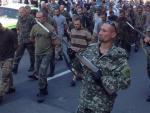 За последние дни в Восточной Украине в плен попали 680 украинских военнослужащих