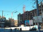 ЧП В Днепропетровске: башенный кран рухнул на людей, есть погибшие
