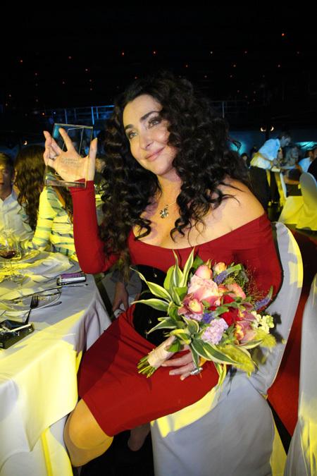 Новый облик Лолиты не остался без внимания звёздных гостей церемонии