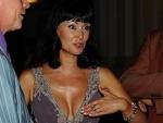 16.07.2012 Нонна Гришаева продемонстрировала свою идеальную грудь.