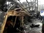 Столкновение бензовоза и автобуса в Бразилии унесло 44 жизни