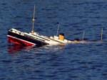 Судно затонуло у берегов Сингапура