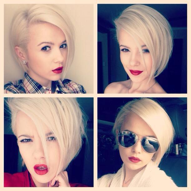 Блондинки с короткой прической